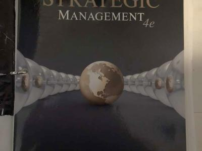 Strategic Management 4th Edition