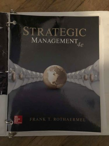 Strategic Management 4th Edition for sale in Centerville , UT