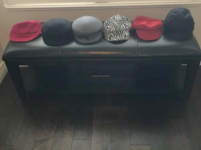 Hats - Zebra Design, Purple, Black, Pink, Red, Tan, Gray and Blue