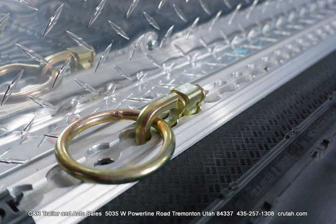 D-Rings for L-Track Tie Down System for sale in Tremonton , UT