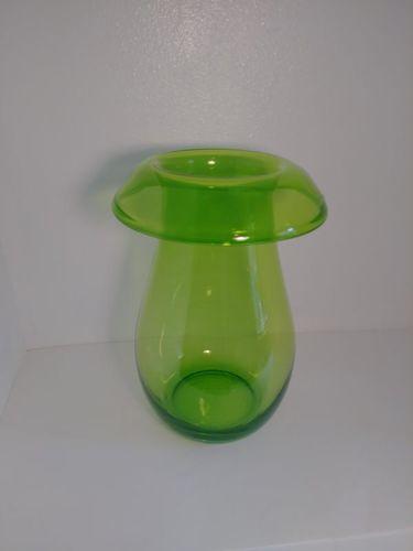 Vintage Stockholm handmade green glass vase for sale in Lehi , UT