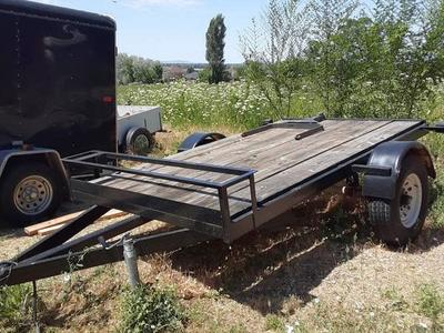 "6' x 10"" flatbed trailer"