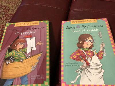 (2) Junie B, First Grader - Hard Cover Books.
