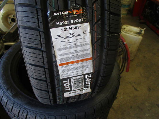 225/45R17 MILESTAR MS932 SPORT NEW TIRES for sale in West Valley City , UT