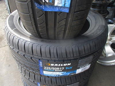 225/50R17 SAILUN ATREZZO SH406 BRAND NEW TIRES