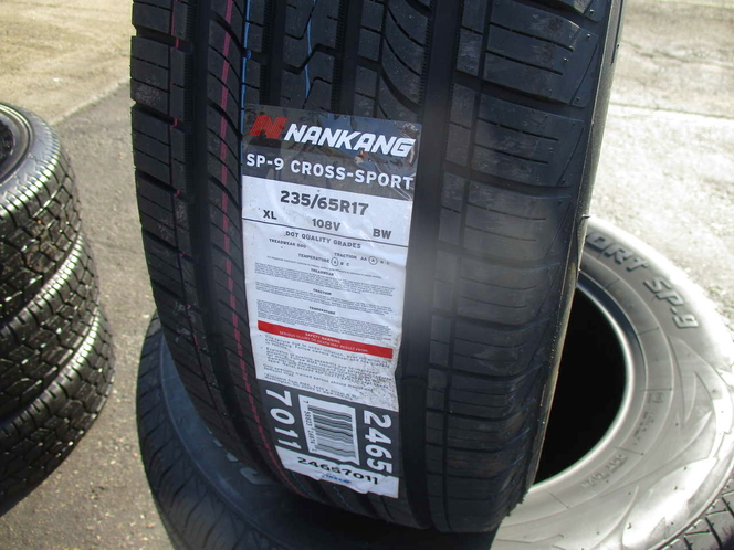 235/65R17 NANKANG CROSS SPORT SP-9 SET OF BRAND NEW TIRES for sale in West Valley City , UT