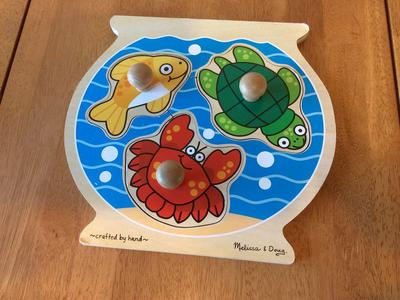Melissa and Doug Fish Bowl Puzzle