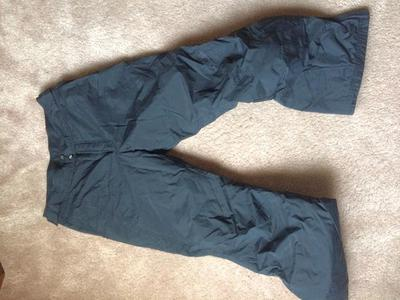 COLUMBIA SNOWBOARD PANTS SMALL LADIES