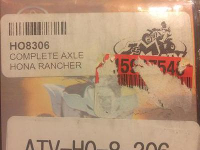HONDA RANCHER AXLE NEW HO8306