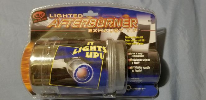 NEW Redline Lighted Afterburner Exhaust Tip Blue for sale in Pleasant View , UT