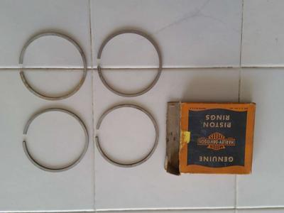 Harley Davidson Piston Rings