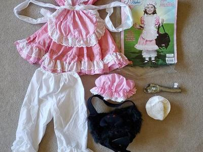 Little Miss Muffet Halloween Costume - size 4 - 6x