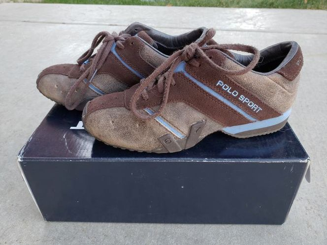 Ralph Lauren Polo Sport Tennis Shoes - size 6 for sale in Ogden , UT