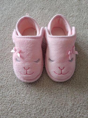 Toddler Girl Bunny Slippers - size 7 / 8 for sale in Ogden , UT