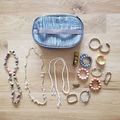 Lot of jewelry and case - bracelets, necklaces for sale in Ogden , UT