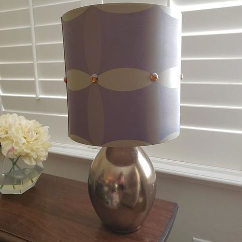 Lamp with Gold Base for sale in Ogden , UT