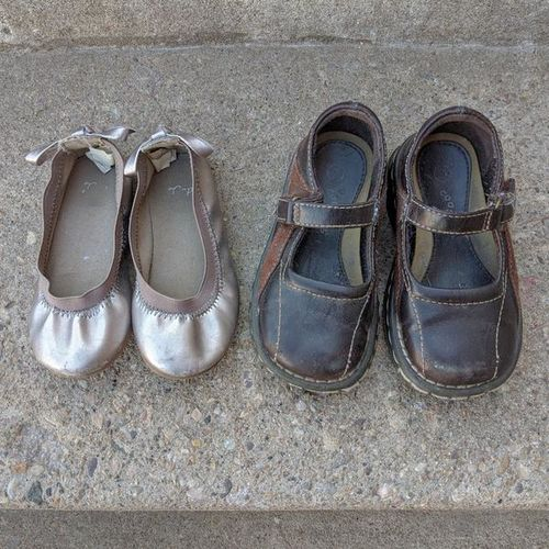 Two Pairs of Girls Shoes - toddler size 7 for sale in Ogden , UT