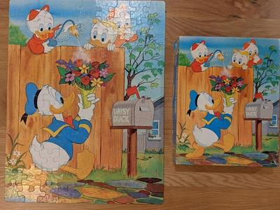 Vintage Disney Donald Duck 100 piece Puzzle