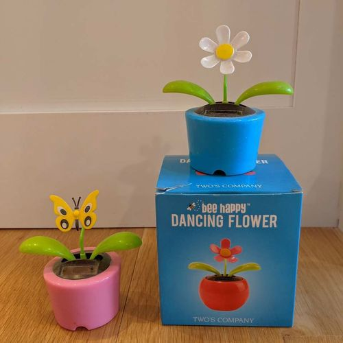 Solar Powered Dancing Flower and Butterfly for sale in Ogden , UT