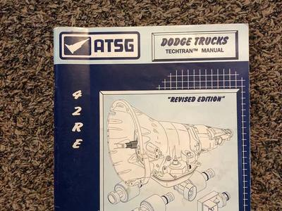 42RE Dodge Truck Auto Transmission Service Manual