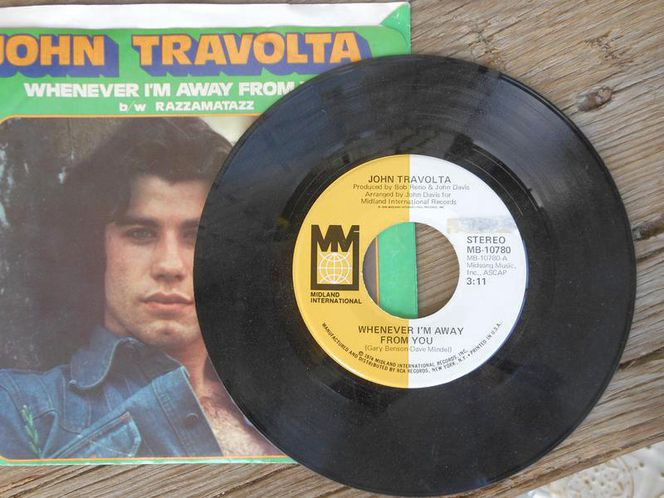 John Travolta 45 vinyl for sale in West Valley City , UT