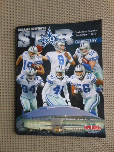 Dallas Cowboy 2010 program book for sale in West Valley City , UT