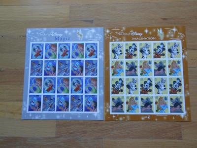 Disney Postage Stamps
