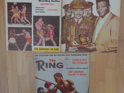 Boxing Magazine 1962
