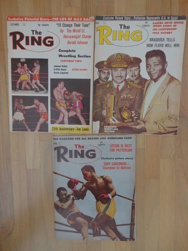 Boxing Magazine 1962 for sale in West Valley City , UT