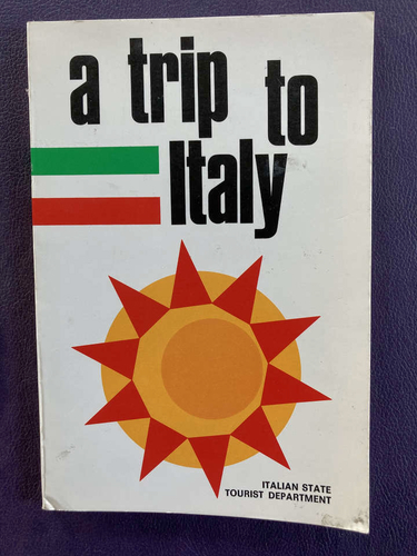 Vintage Italy Tour Book 1970 for sale in West Valley City , UT