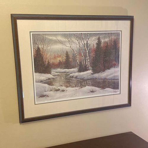 ARTIST PROOF Blanket Of White By Jack Anderson for sale in Bountiful , UT