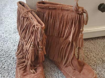 Moccasin 1/2 Boots