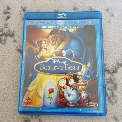 Beauty and The Beast on Blu Ray for sale in West Jordan , UT