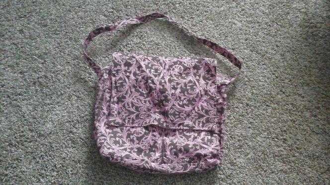 Cute pink and brown diaper bag for sale in Riverton , UT
