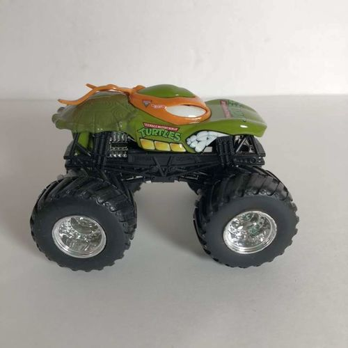 Hot Wheels Monster Jam Teenage Mutant Turtle Truck for sale in Brigham City , UT