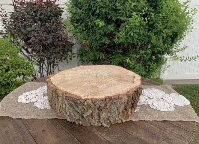 """20"""" Rustic Cake Stand💕Rental for rent in Centerville , UT"""
