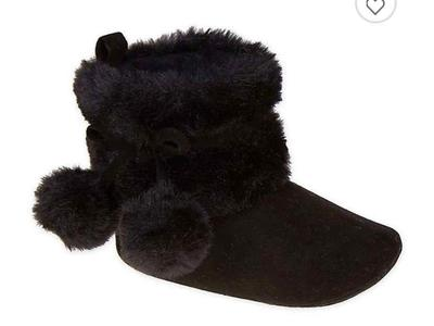 Faux Fur Booties - New!