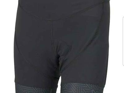 KETL MTB liner Shorts Womens Gulf cycling chamois padded shorts Black Medium