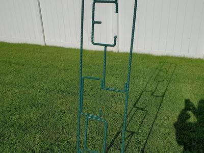6 ft Rebar Welcome sign..price lowered