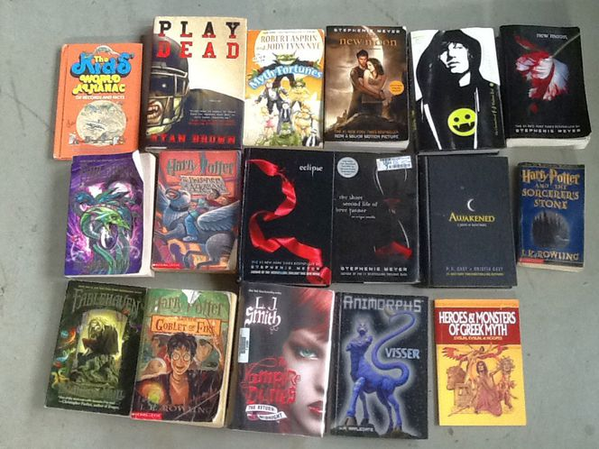 Misc teen books $1.00 each for sale in Taylorsville , UT