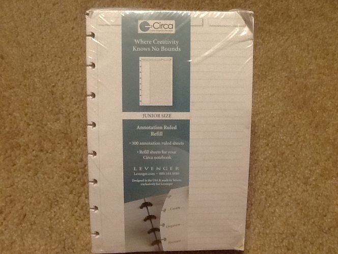 Refill sheets for Circa notebook for sale in Taylorsville , UT