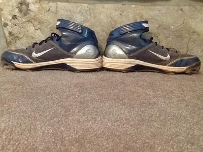 NIKE AIR HUARACHE METAL BASEBALL CLEATS MENS SIZE 13 LWP 90