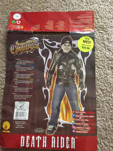 Dead city choppers death rider Halloween costume for sale in Taylorsville , UT