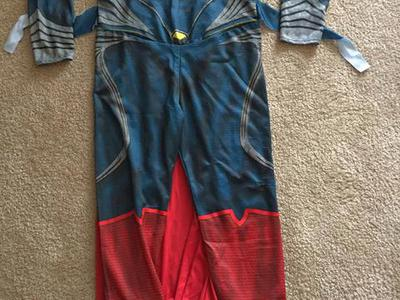 Children's large superman Halloween costume