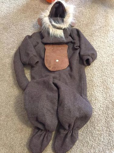 Homemade 1-2 year old child monkey Halloween costu for sale in Taylorsville , UT