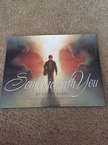 Someone with you by Larry Gibby hardback book for sale in Taylorsville , UT
