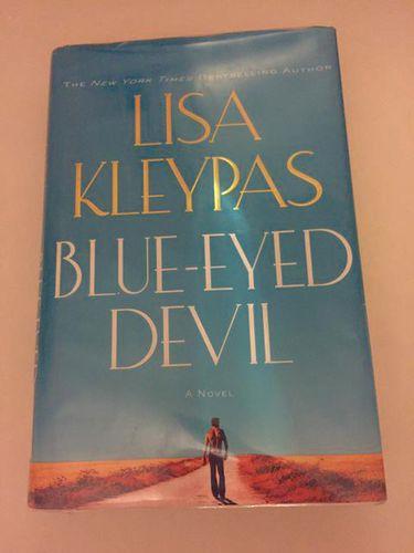 Lisa Kleypas Blue-Eyed Devil hardback book novel for sale in Taylorsville , UT