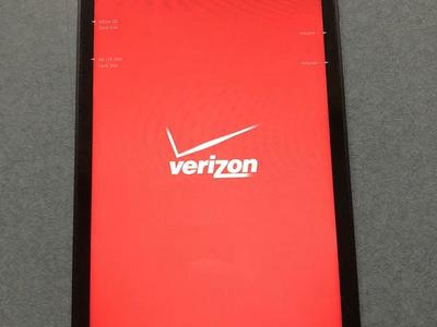 Verizon ellipsis 4G LTE QTAQZ3 tablet
