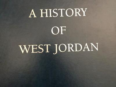 A History Of West Jordan Hardback Book