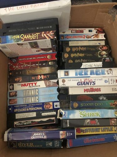 MISCELLANEOUS PG RATED VHS VIDEO CASSETTE TAPES for sale in Taylorsville , UT